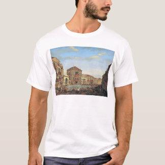 Napoleon I  Presiding over a Regatta in Venice T-Shirt
