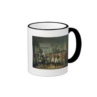 Napoleon I que recibe a los diputados Taza De Café