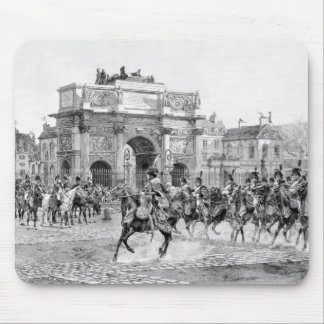 Napoleon I que revisa a sus tropas Alfombrilla De Raton