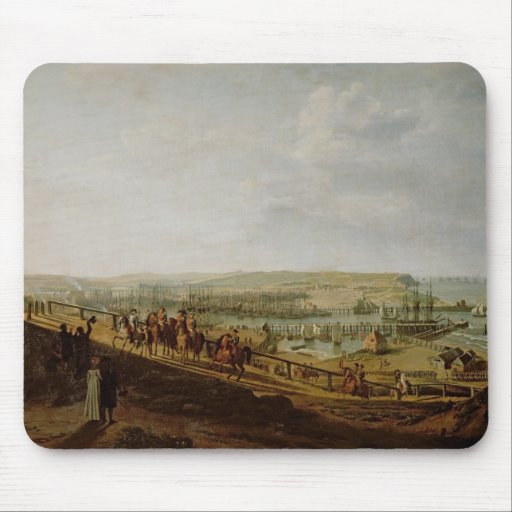 Napoleon I que visita el campo en Boulogne Alfombrilla De Raton