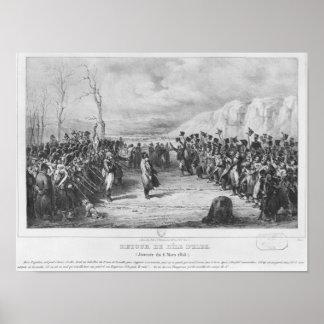 Napoleon I que vuelve de Elba Póster