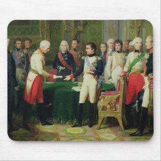 Napoleon I  Receiving Baron Vincent Mouse Pad
