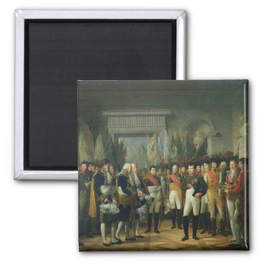 Napoleon I  Receiving the Deputies Magnet