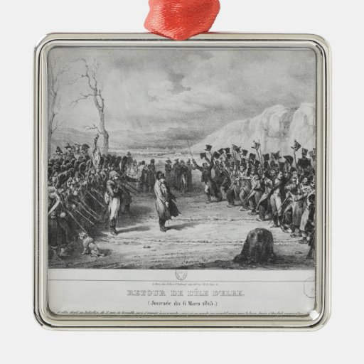 Napoleon I  returning from Elba Christmas Ornament
