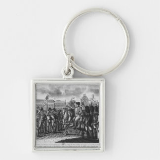 Napoleon I reviewing the Federes of the Parisian Keychain