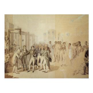 Napoleon I  Visiting the Sevene Brothers' Postcard