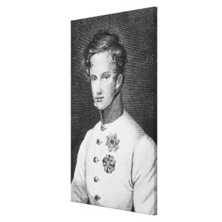 Napoleon II, Francois Charles Joseph Canvas Print