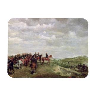 Napoleon III (1808-73) at the Battle of Solferino Magnet
