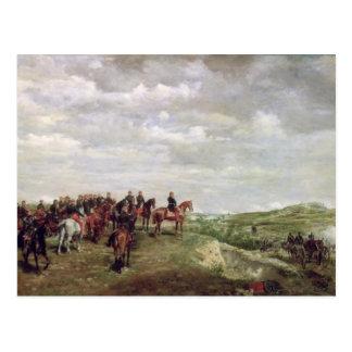 Napoleon III (1808-73) at the Battle of Solferino Postcard