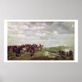 Napoleon III (1808-73) at the Battle of Solferino Poster