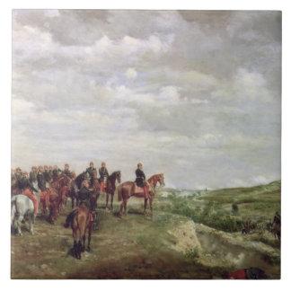 Napoleon III (1808-73) at the Battle of Solferino Tile