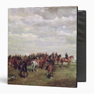 Napoleon III (1808-73) en la batalla de Solferino