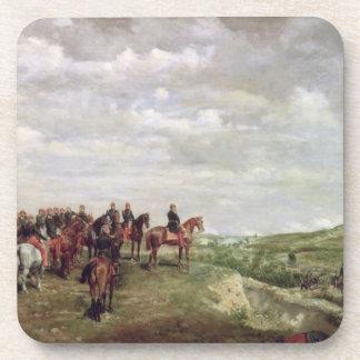 Napoleon III (1808-73) en la batalla de Solferino Posavasos De Bebida