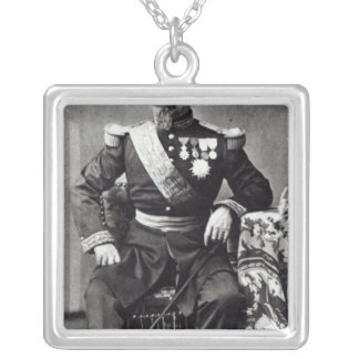 Napoleon III, 1860-70 Colgante Cuadrado
