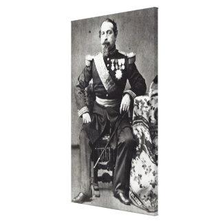 Napoleon III, 1860-70 Impresión En Lona Estirada