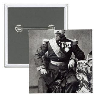 Napoleon III, 1860-70 Pin Cuadrado