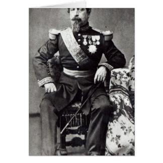 Napoleon III, 1860-70 Tarjeta De Felicitación