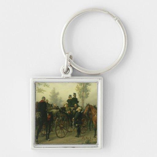 Napoleon III and Bismarck Key Chains