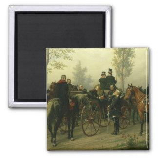 Napoleon III and Bismarck Magnets