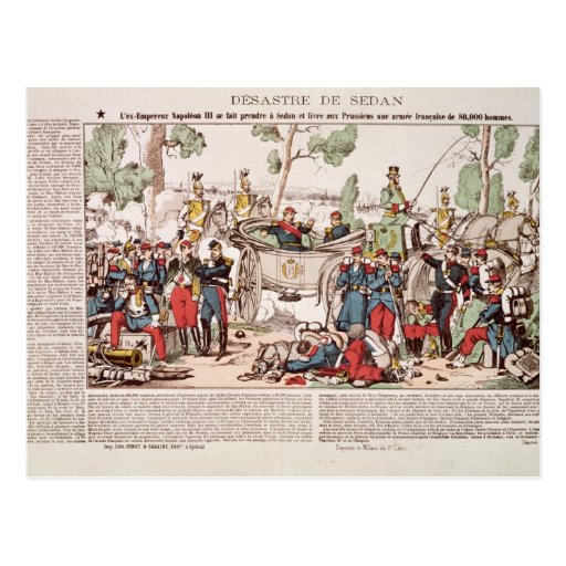 Napoleon III llega el sedán Postal