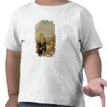 Napoleon III que visita los trabajos en el Louvre Camisetas