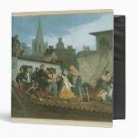 Napoleon III  Visiting Flood Victims of Binder