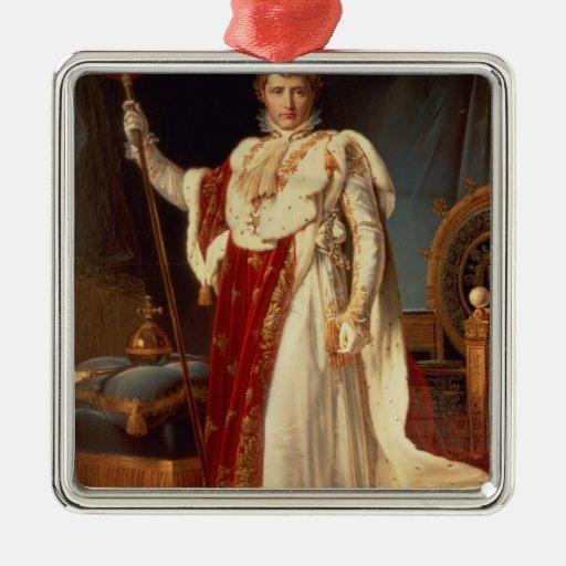 Napoleon in Coronation Robes, c.1804 Christmas Tree Ornaments