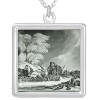Napoleon in disguise silver plated necklace