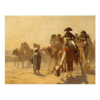 Napoleon in Egypt Postcard