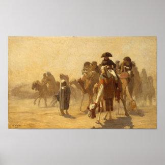 Napoleon In Egypt Poster