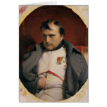 Napoleon  in Fontainebleau, 1846 Card