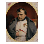 Napoleon  in Fontainebleau, 1846 Poster