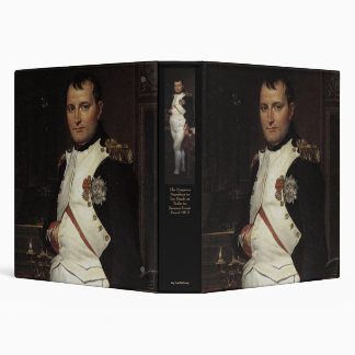Napoleon in his Study by Jacques Louis David Binder