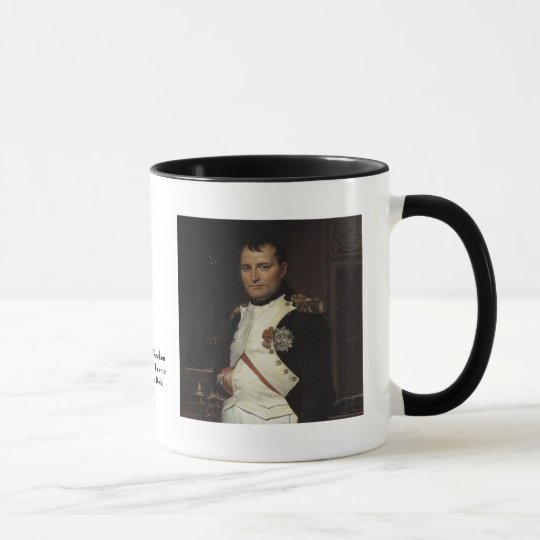 Napoleon in his Study by Jacques Louis David Mug