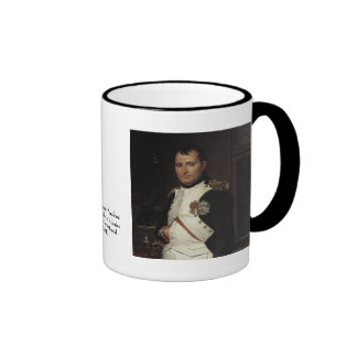 Napoleon in his Study by Jacques Louis David Mugs