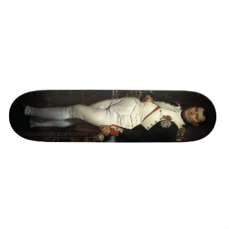 Napoleon in his Study by Jacques Louis David Skateboard