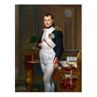 Napoleon in his Study Postcard