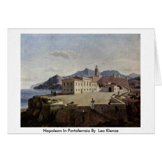 Napoleon In Portoferraio By By Leo Klenze Greeting Card