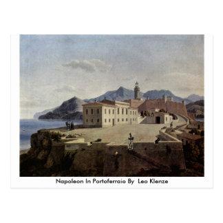Napoleon In Portoferraio By By Leo Klenze Postcard