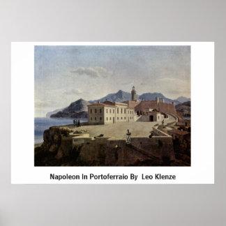 Napoleon In Portoferraio By By Leo Klenze Print
