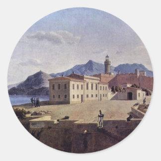 Napoleon In Portoferraio By Klenze Leo Von (Best Q Round Sticker