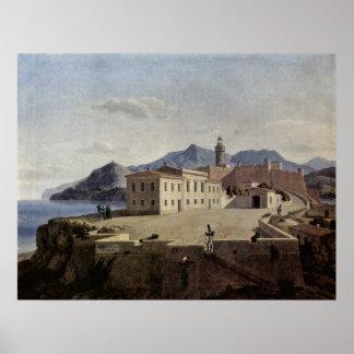 Napoleon in Portoferraio by Leo von Klenze Print