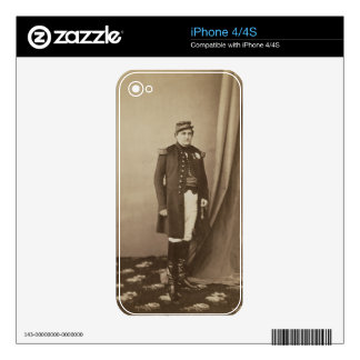 Napoleon-Joseph-Charles-Paul (1822-91) Prince Napo Decal For The iPhone 4