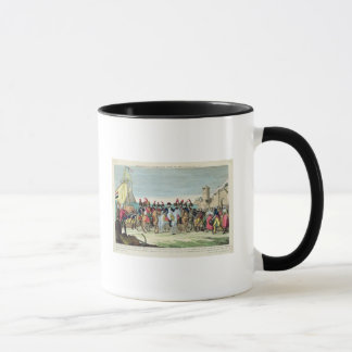 Napoleon  Leaving for Golf Juan, 1st March 1815 Mug