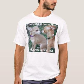 Napoleon & Lucia find love at Rescue Farm T-Shirt