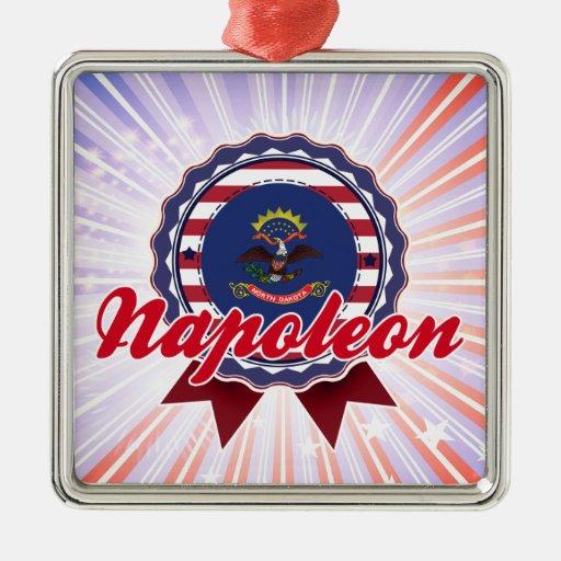 Napoleon, ND Ornaments