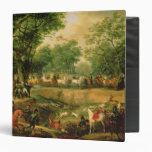 Napoleon on a hunt in the Compiegne Forest, 1811 Binder