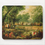 Napoleon on a hunt in the Compiegne Forest, 1811 Mouse Pad