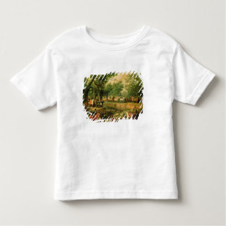 Napoleon on a hunt in the Compiegne Forest, 1811 T-shirt