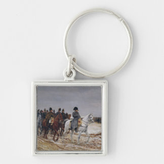 Napoleon  on Campaign in 1814, 1864 Keychain